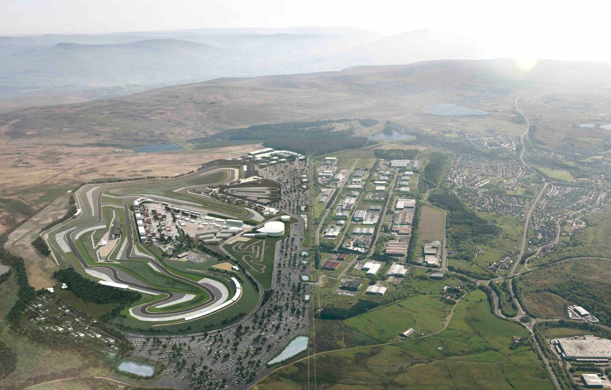 The project was expected to take over 830 acres of Blaenau Gwent