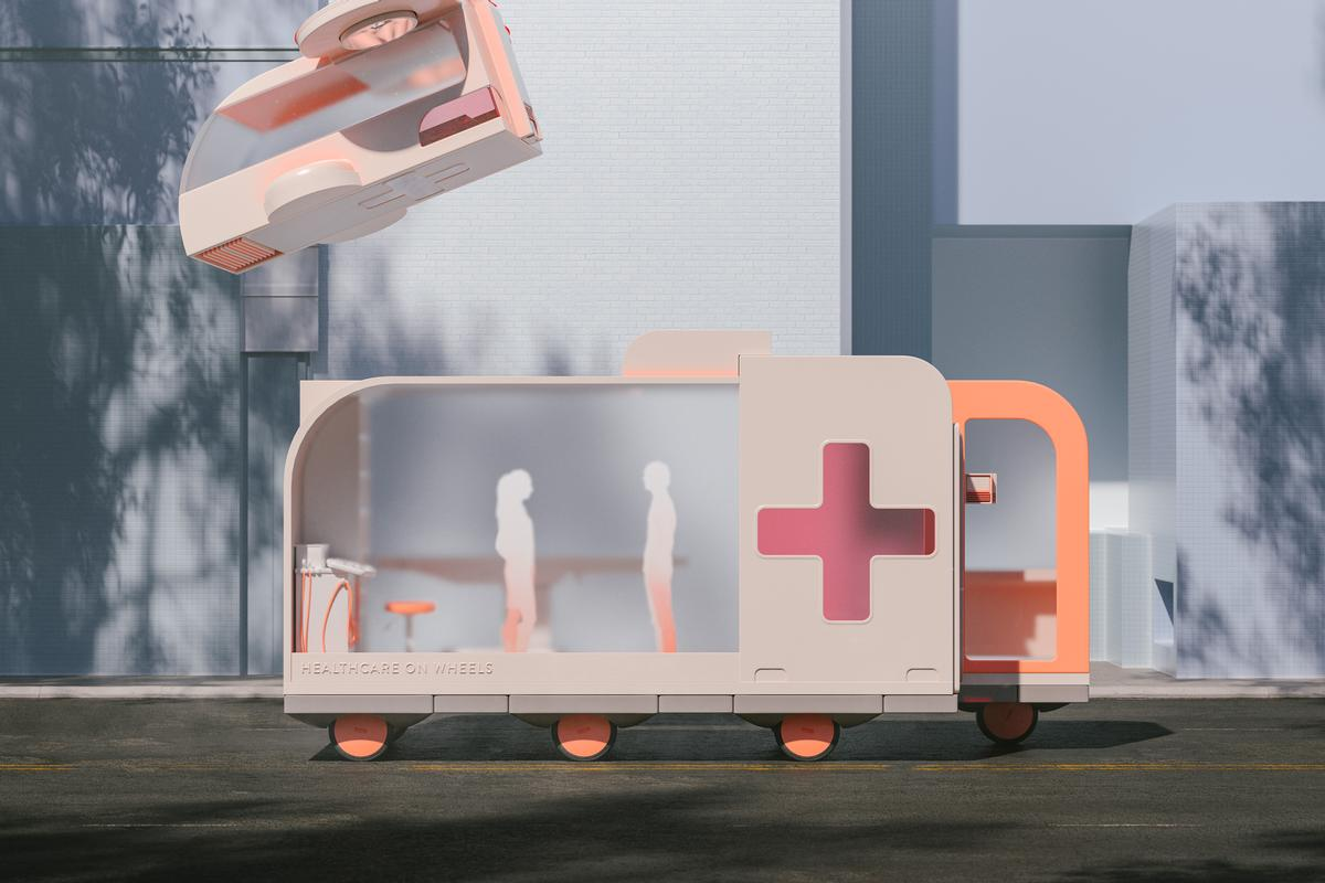 Healthcare on Wheels / courtesy of Space10