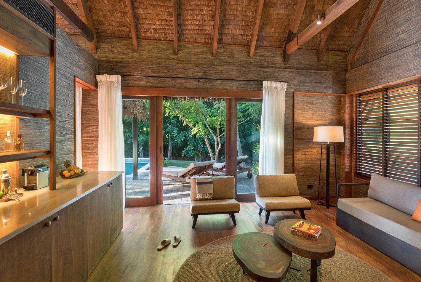 Six Senses Fiji is a luxury resort which is off the grid