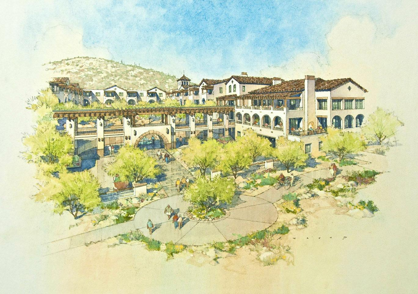 The Hacienda at the Canyon senior living campus is set to open in Tucson in 2019
