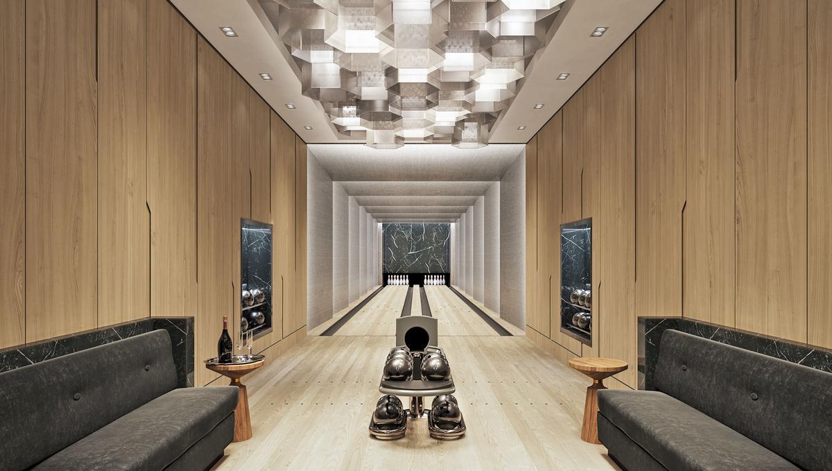 Waterline Square also includes a tenpin bowling centre.