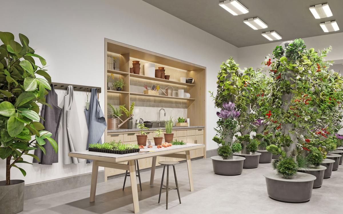 The Gardening Studio is one of many amenities planned for Waterline Square in New York City