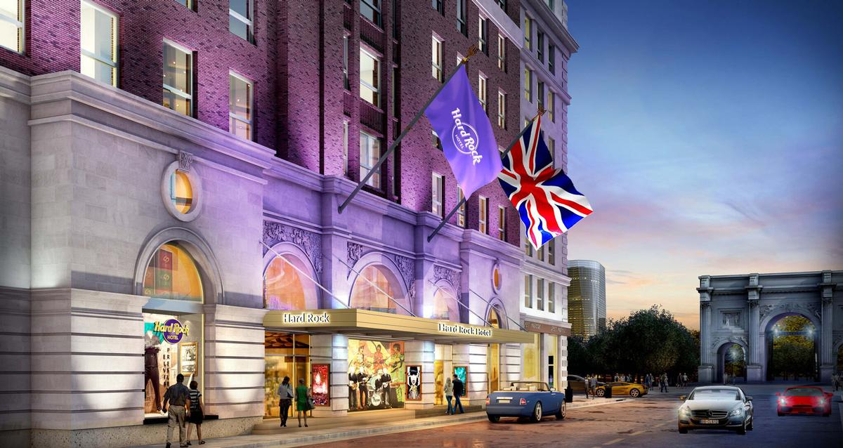 With 1,000 rooms and suites, Hard Rock Hotel will become one of the capital's largest hotels