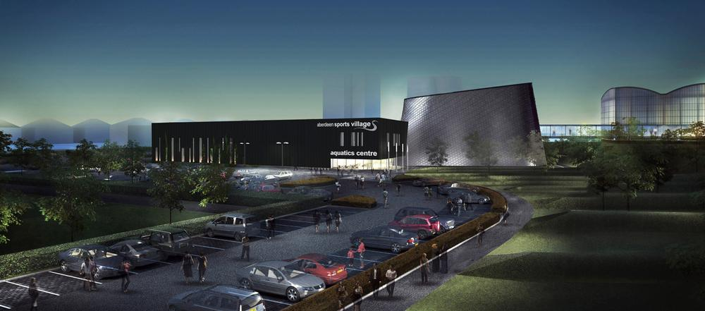 Aberdeen Aquatics centre will provide training facilities for the Commonwealth Games this summer