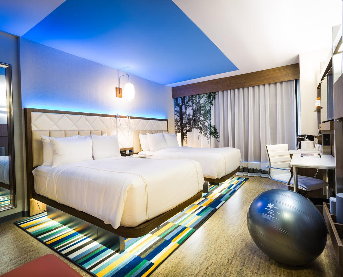 Even Hotels is designed to empower business travellers and guests with access to options so they can maintain their health and wellness routines while on the road