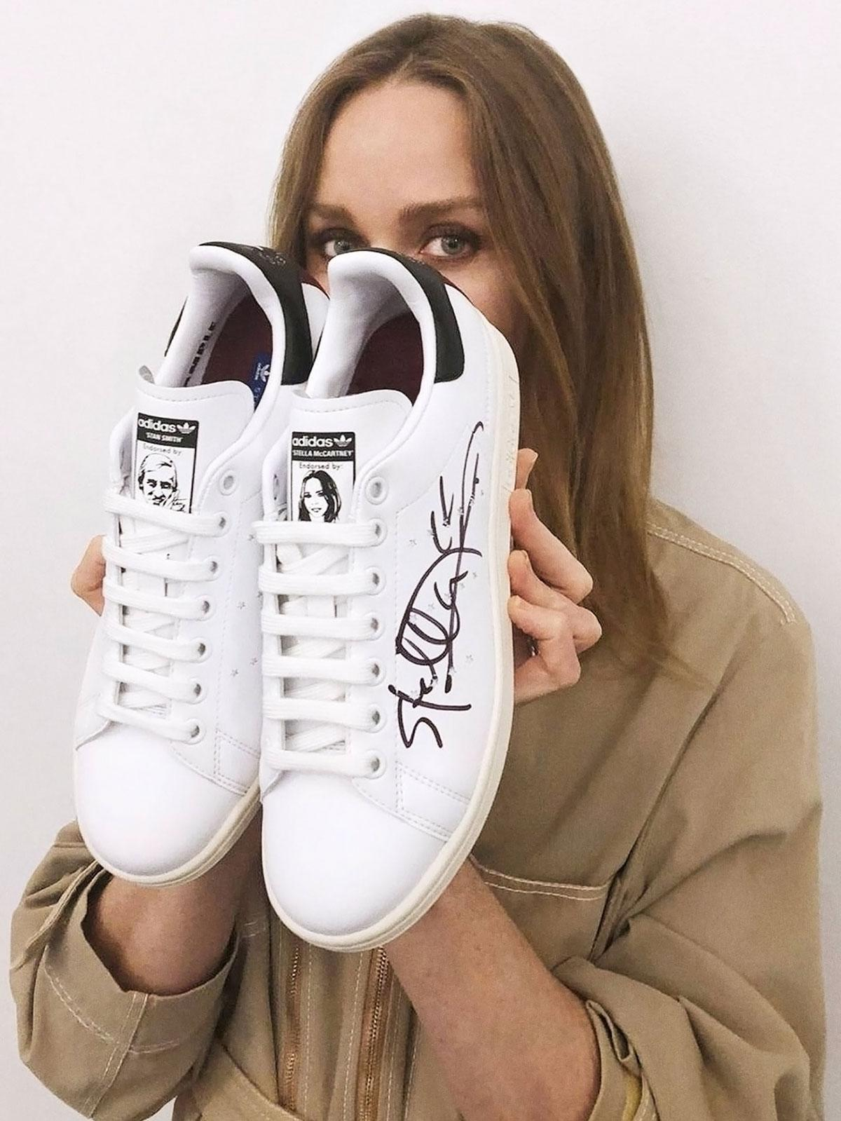 Stella McCartney and Adidas have teamed up to produce a leather-free, vegan shoe