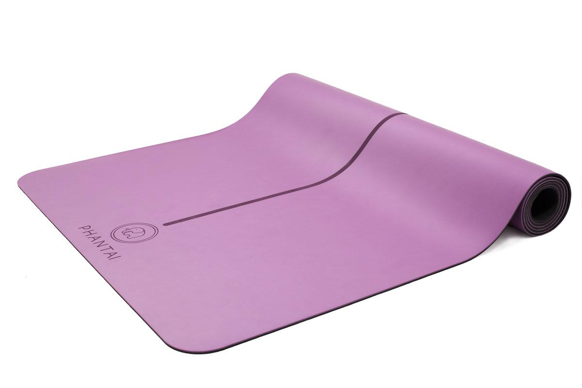 Each mat is emblazoned with a mandala, an energy-raising symbol.