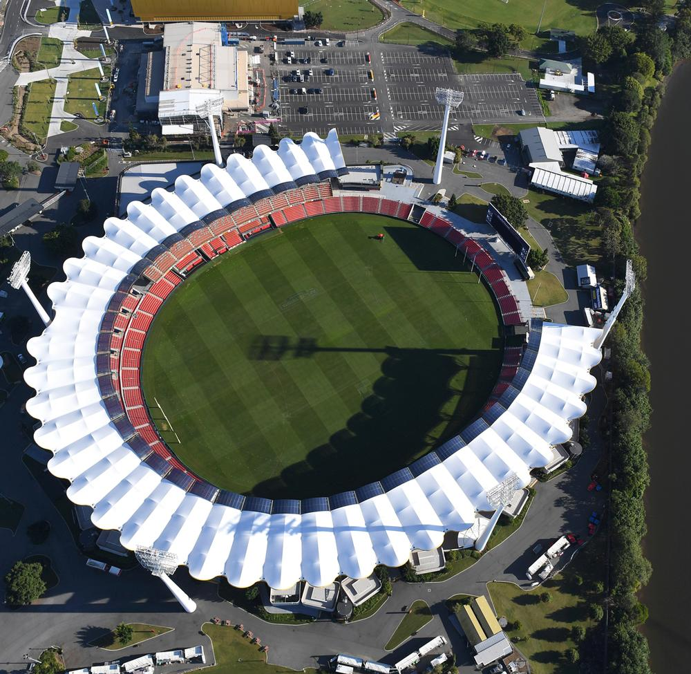 The Carrara Stadium has been expanded to a capacity of 35,000