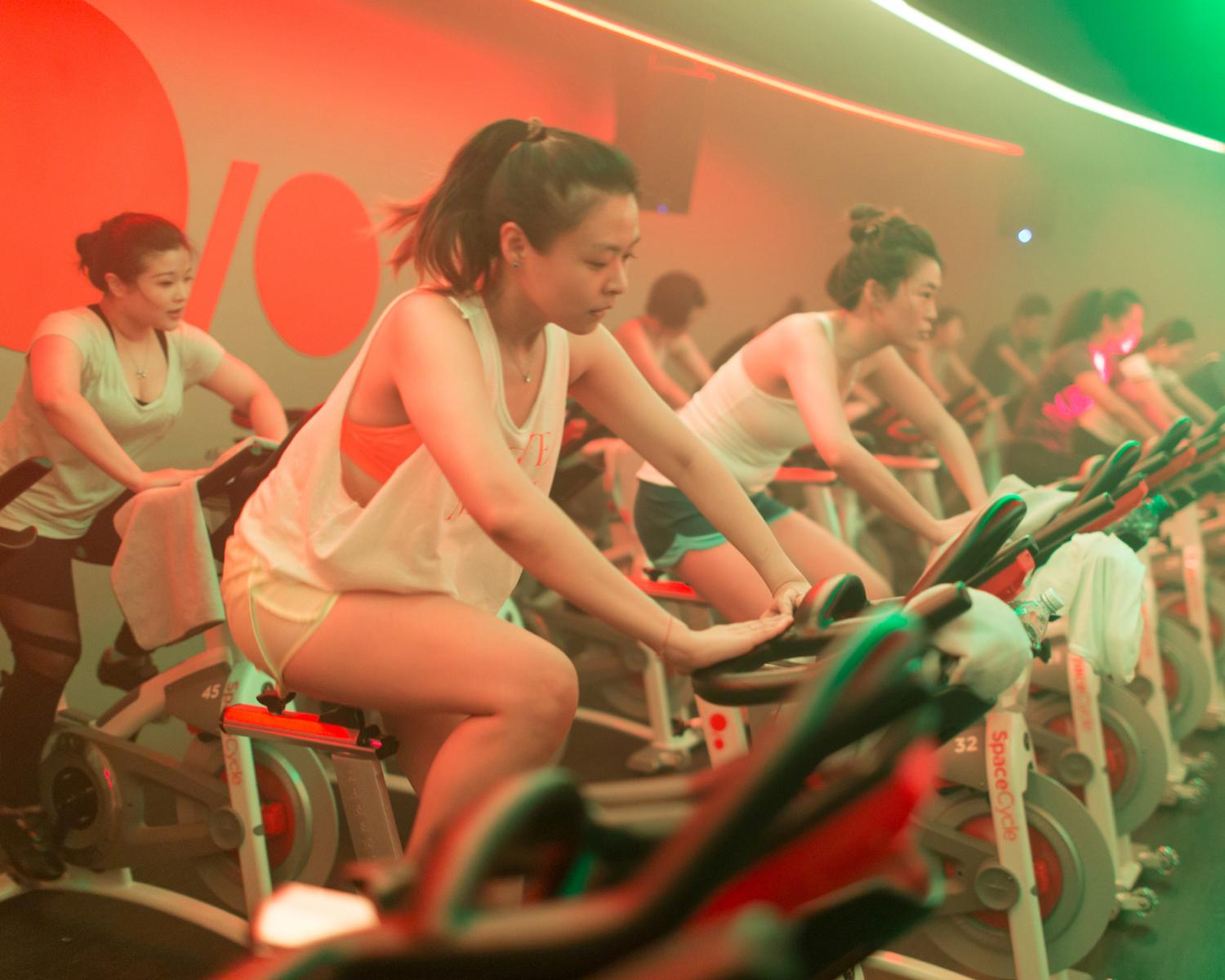 Space Cycle received backing of $15m from Chinese internet giant Alibaba to extend its influence beyond fitness and into lifestyle