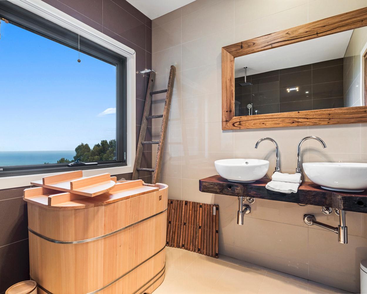 Bartok Design creates traditional Japanese soaking tubs