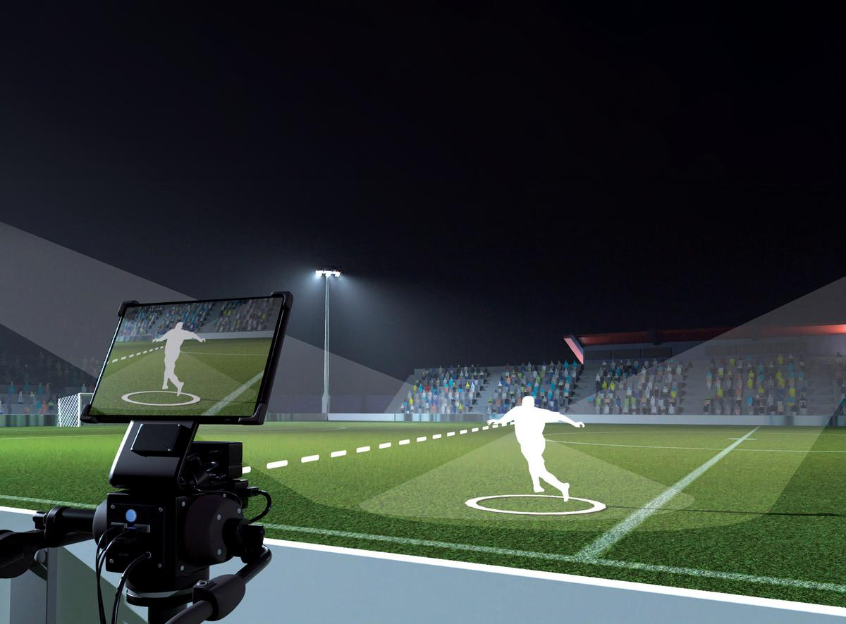 The Polycam One system enables a single operator to record a match from multiple camera positions simultaneously