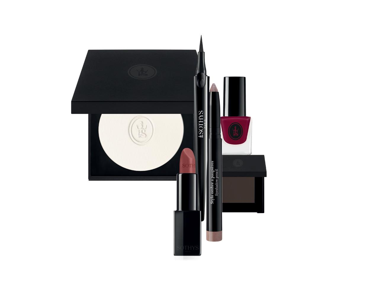 Sothys has launched a make up collection inspired by the city of Paris