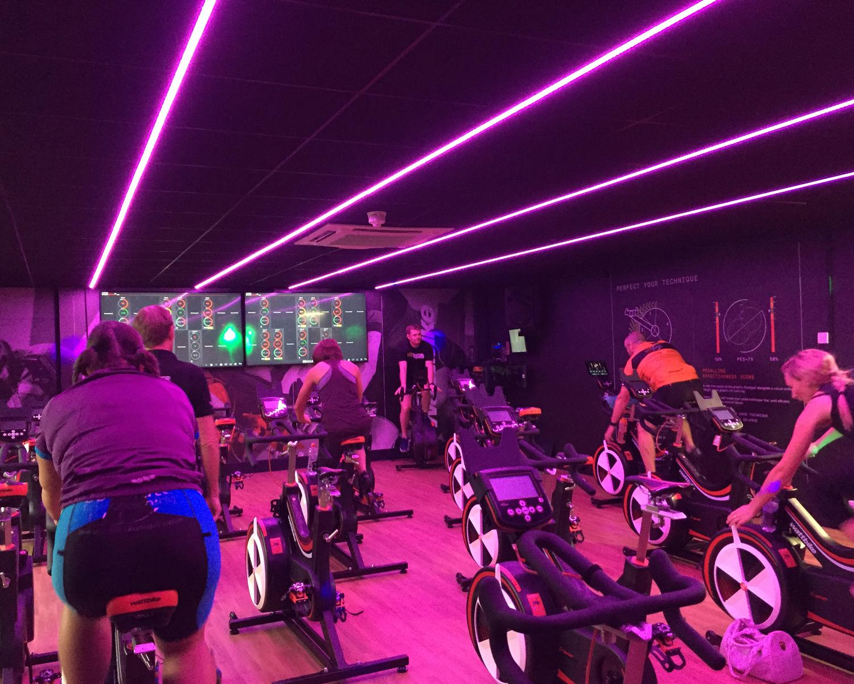 Holme Pierrepont Country Park opened its Wattbike indoor cycling studio in September