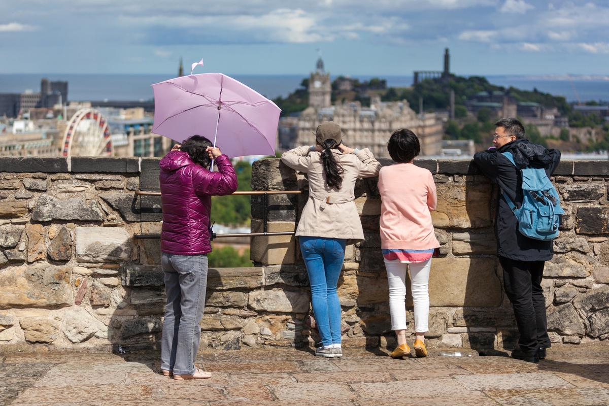 The number of visitors from Europe grew by 17 per cent during 2017