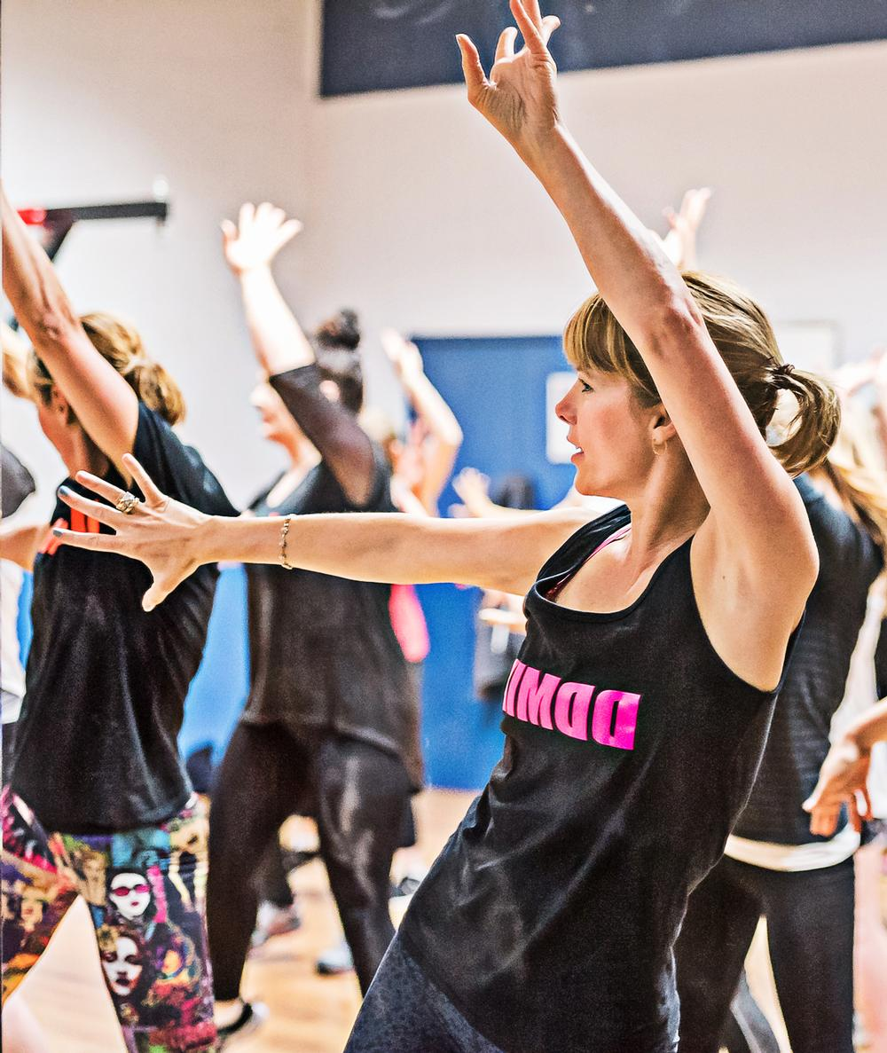 Darcey Bussell's DDMIX offers a full body workout
