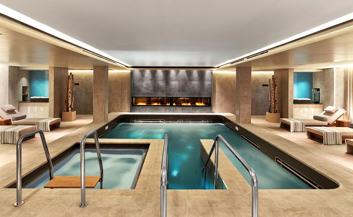 When creating the 'perfect' spa design Bell argues that there are five key factors to consider