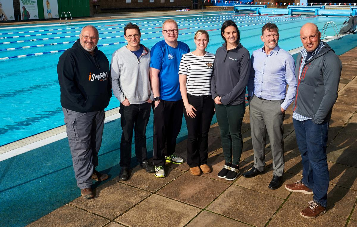 The development team of the Open Water Swimming Coaching qualification / STA