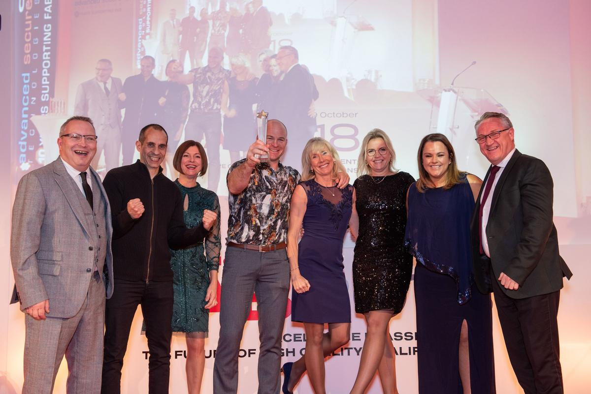 Active IQ won the award for its new Flair for Fitness app, developed by Train Me