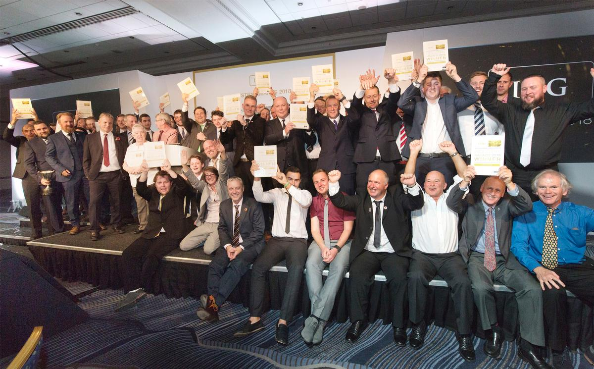 All the winners at the awards gala last night (31 October) / IOG