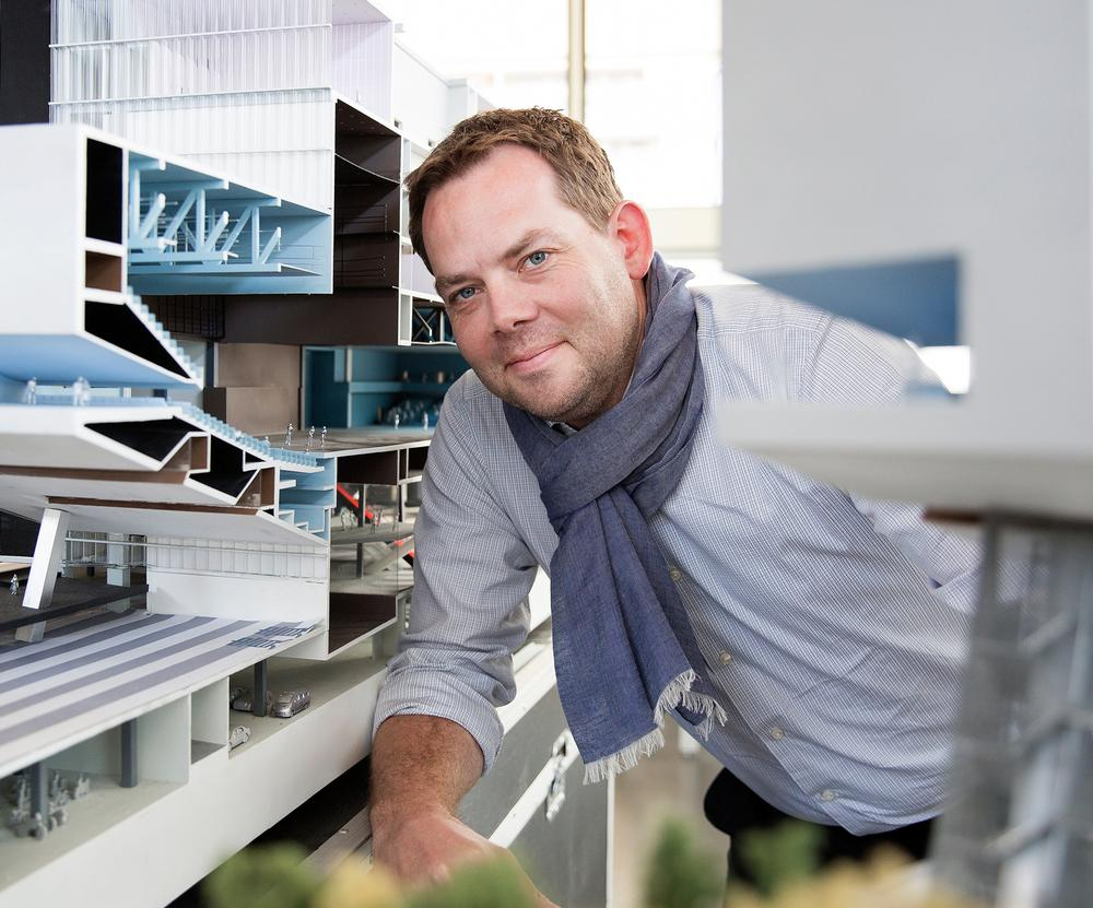 David Gianotten is one of nine partners who lead OMA. He was made a partner in 2010 / Photo: Vincent van den Hoogen