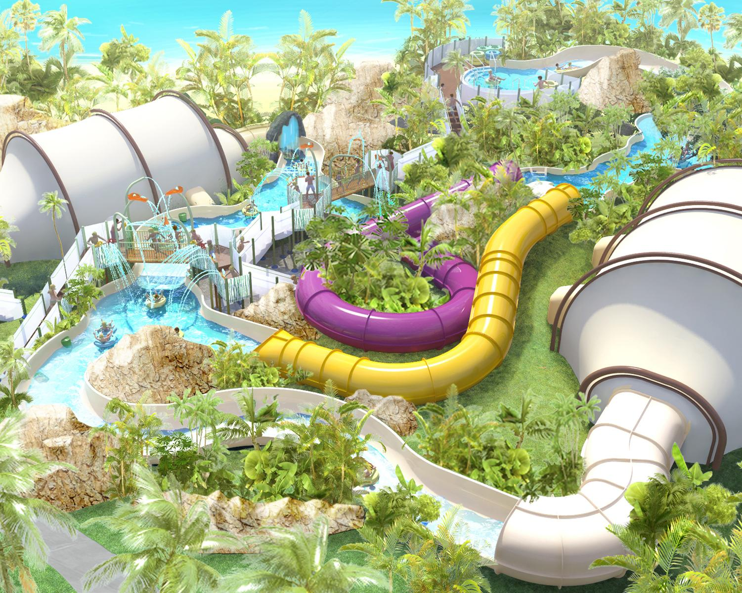 RiverQuest is a family adventure ride that combines the thrills of traditional river rides and waterslides with multi-sensory dreamscapes