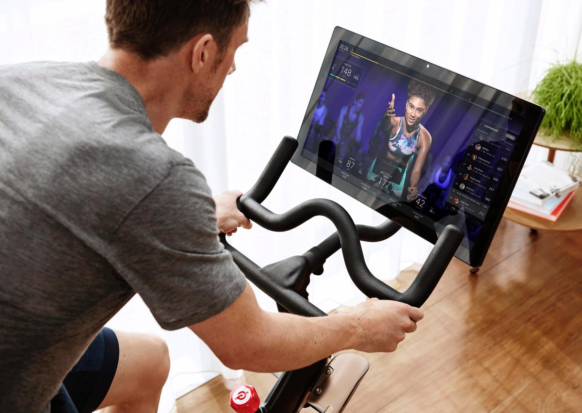 Peloton bikes will retail at £1,895, plus £39 a month for a subscription to unlimited video classes and live streaming