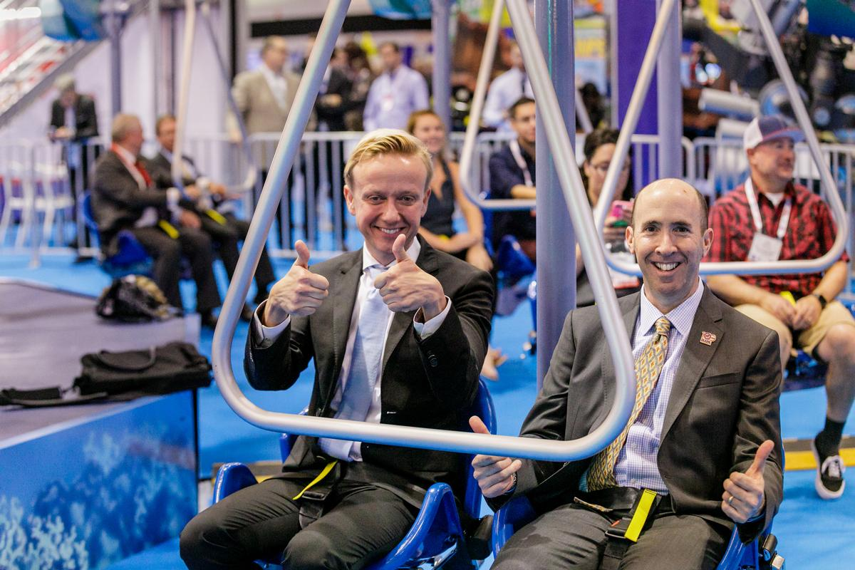 During the show IAAPA chair Andreas Andersen will be succeeded by Monterey Bay Aquarium vice president David Rosenberg / IAAPA