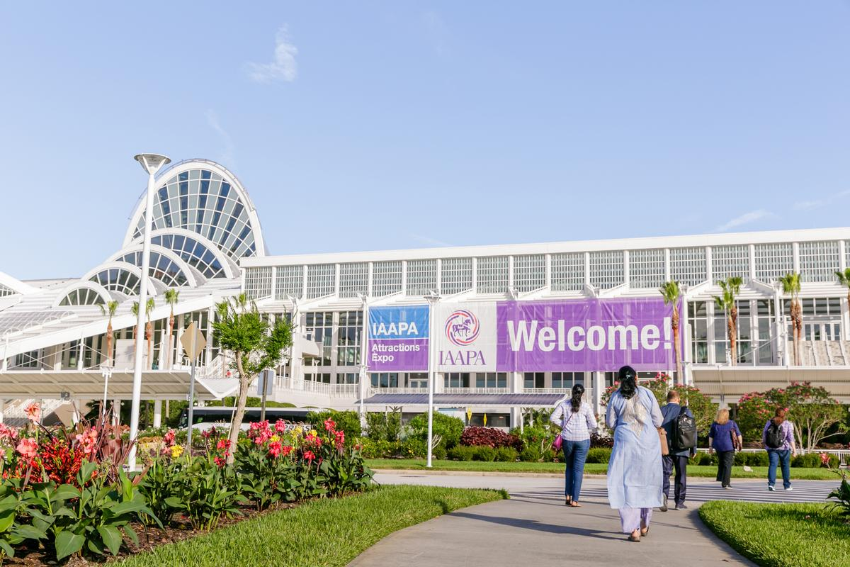 Hosted inside the Orange County Convention Centre, the Expo gets into full swing on 13 November / IAAPA