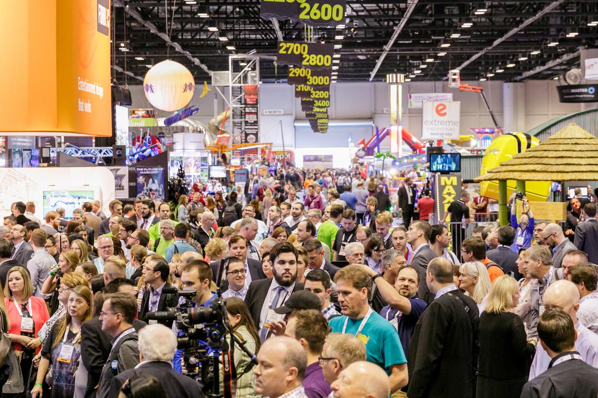 More than 30,000 people attended the 2017 edition of the expo / IAAPA