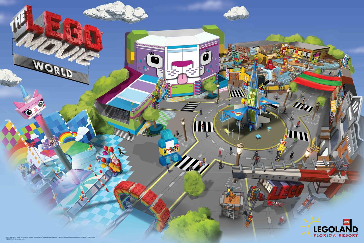 Aimed at children aged two to 12, the new area will feature three new rides, character meet and greets and a giant themed playscape