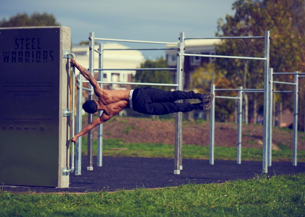 The tough discipline of callisthenics is growing in popularity, especially among the target groups