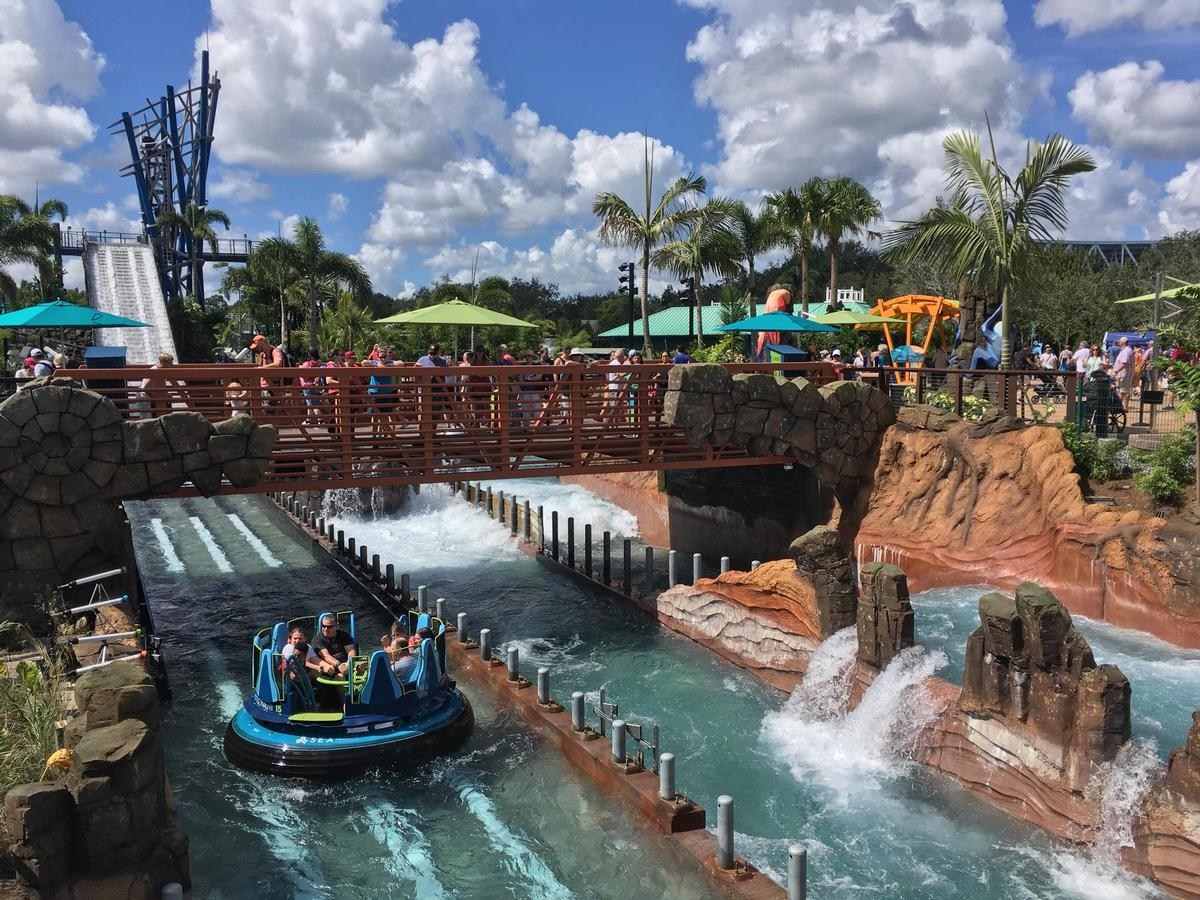 Intamin's 'Infinity Falls' Rapids Ride started operation at SeaWorld, Orlando, in October this year