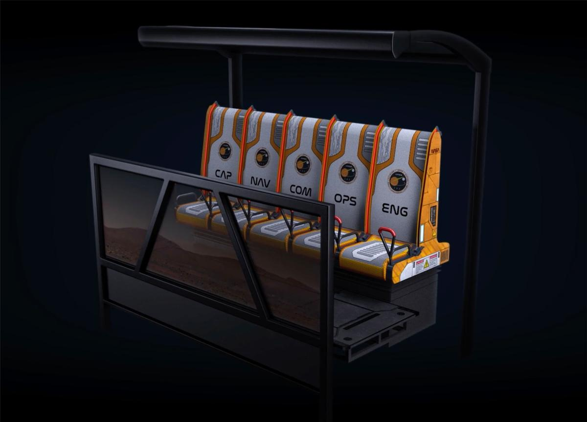 Simex-Iwerks will showcase its 4D Vertical Experience