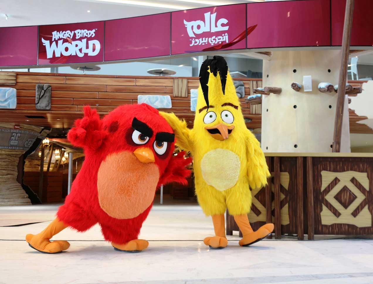 Rocas & Design worked on the newly-opened Angry Birds World in Doha