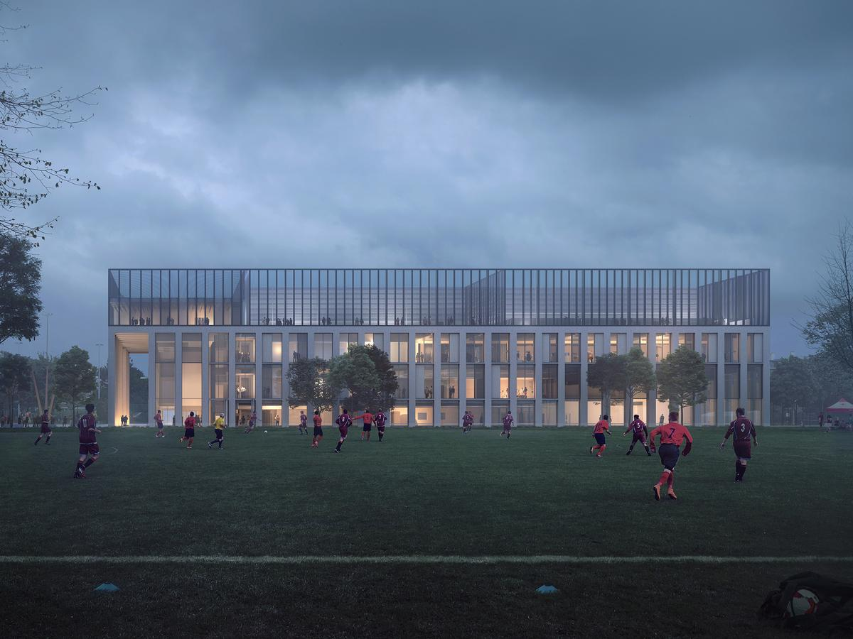 The Greater London Authority is expected to make a decision on the proposed facility within 14 days. / Courtesy of FaulknerBrowns Architects