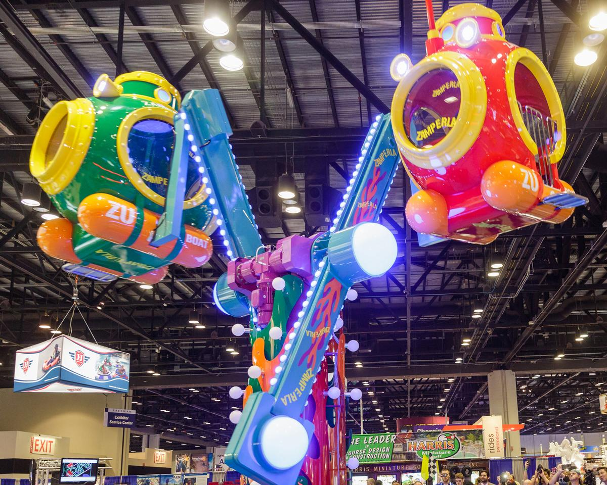 Zamperla will showcase a host of new coaster concepts