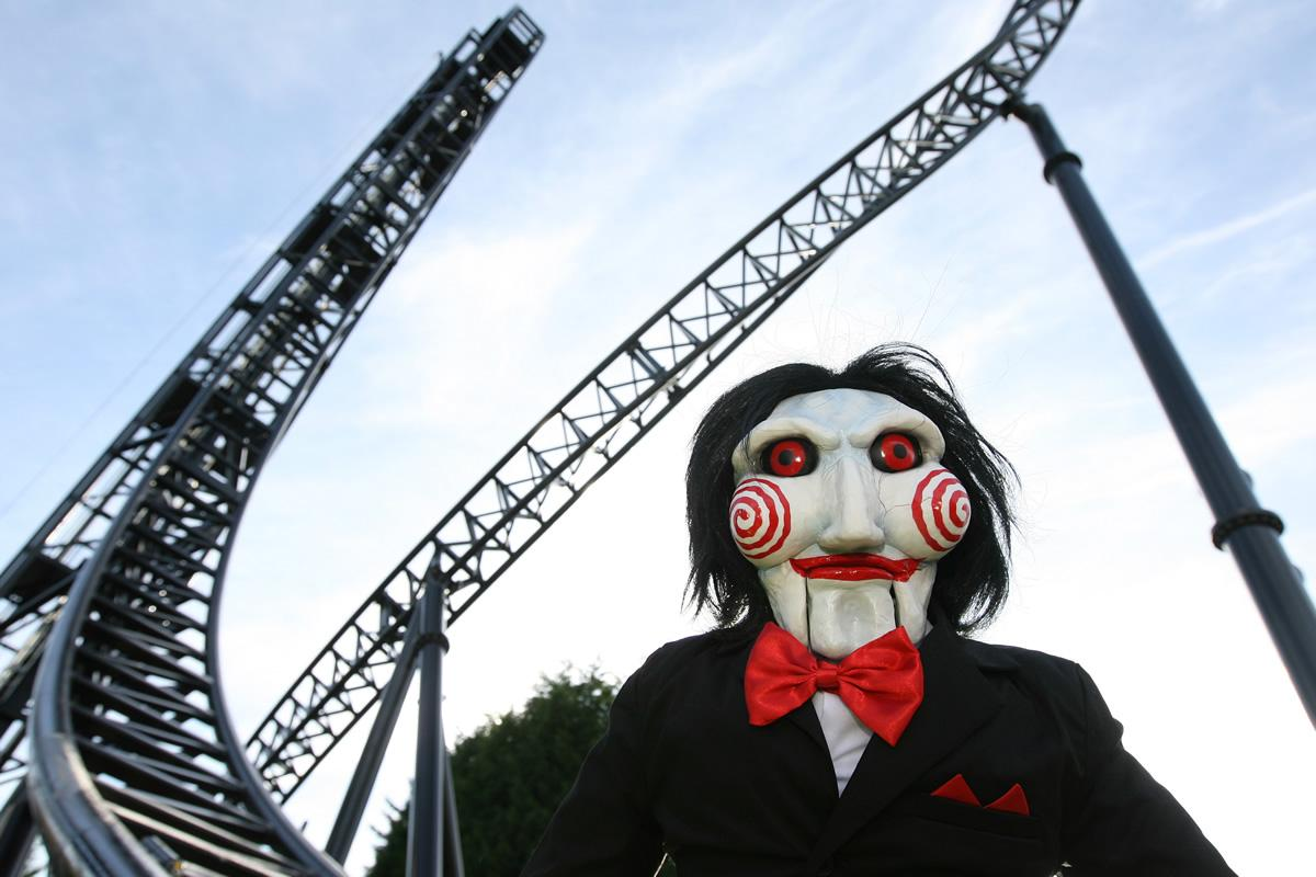 Saw – one of Thorpe Park's most popular rides – is among those temporarily closed