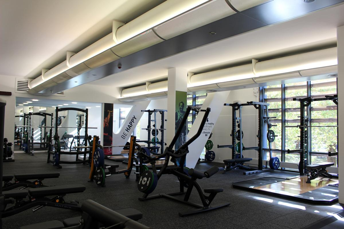 The improved facilities are designed to provide affordable, accessible and appropriate physical activities for staff and students alike