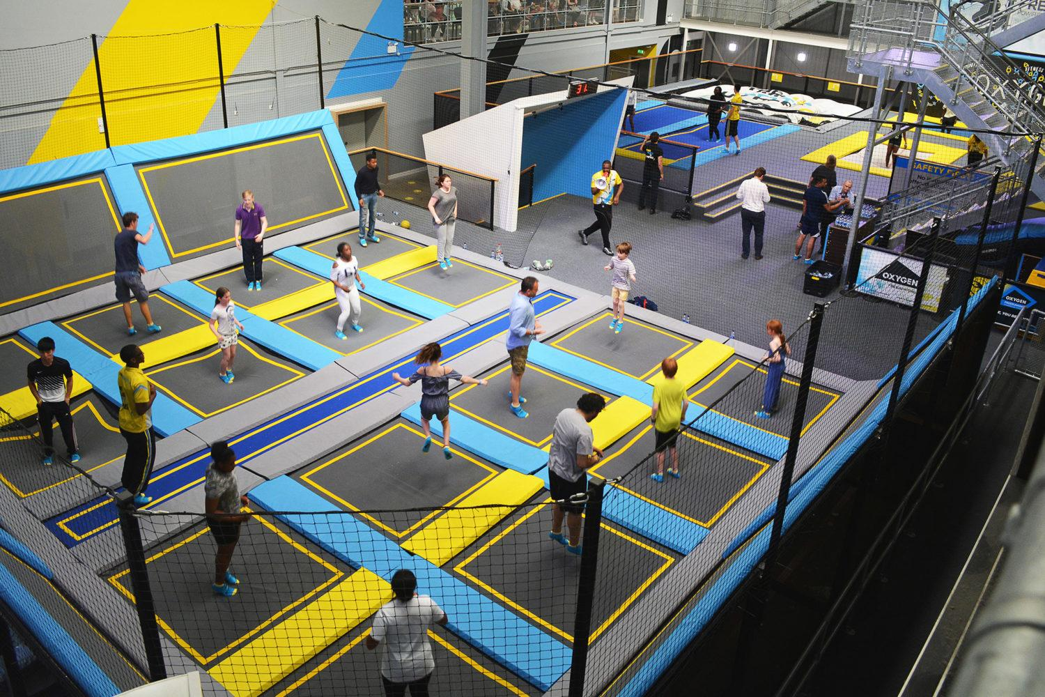 Oxygen also recently opened new venues in Stevenage and Wolverhampton. / Courtesy of Oxygen Freejumping