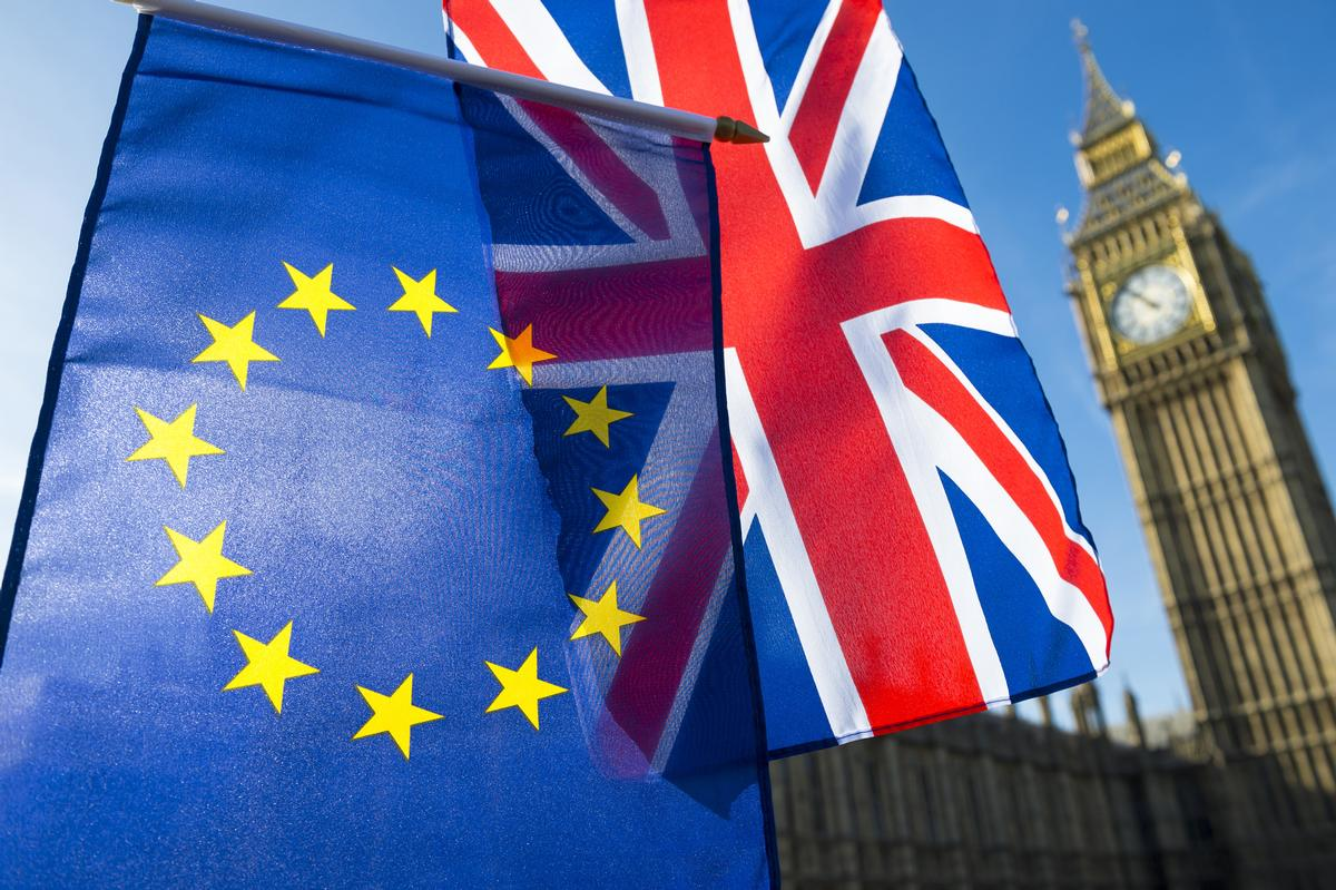 The UK is set to leave the European Union in March 2019 / Shutterstock