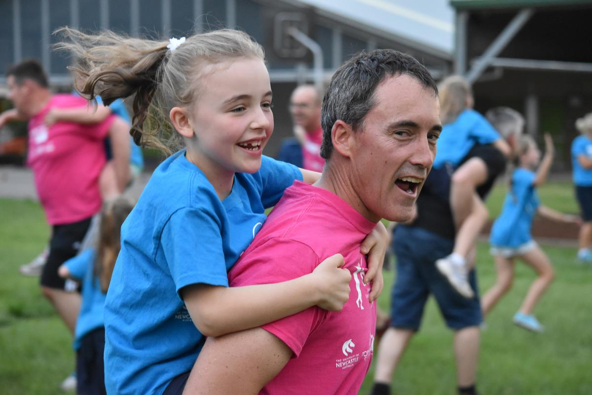 The programme will encourage fathers to play a greater role in supporting their daughters to develop physical confidence