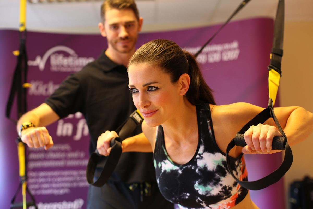 Fitness enthusiast and <i>Sky Sports News</i> presenter Kirsty Gallacher is among those to have signed up to for the programme