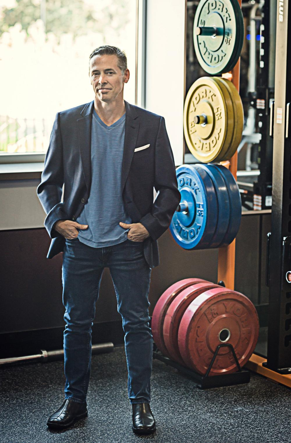 Gallup began his fitness career at Gold's Gym Hawaii, overseeing retail