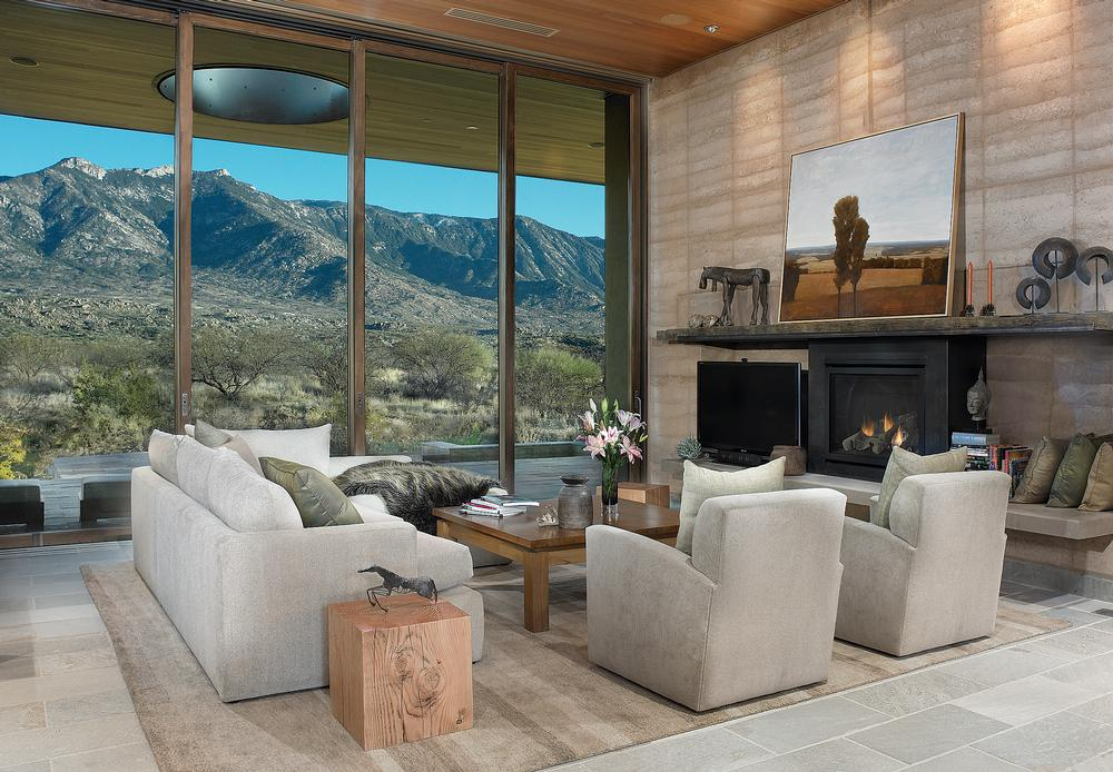 Clodagh allowed the views to take centre stage in Miraval's residential villas