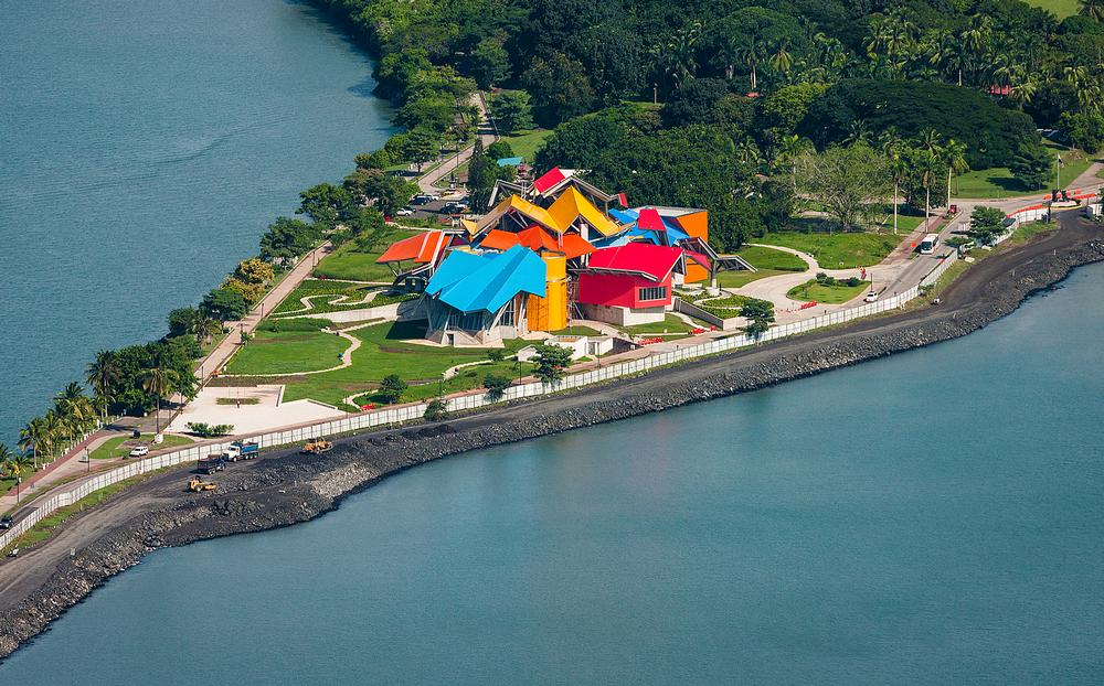 The museum's bright canopies were inspired by the tin roofs and colourful buildings of the area, as well as Panama's spectacular wildlife / PHOTO: FERNANDO ALDA