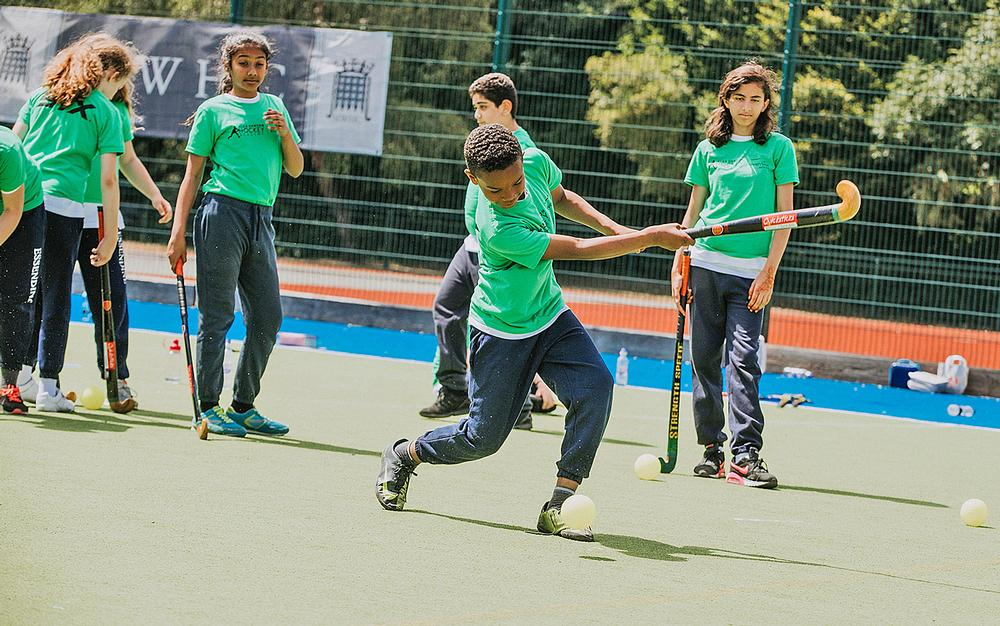 The academy will run hockey camps at Everyone Active sites during school holidays