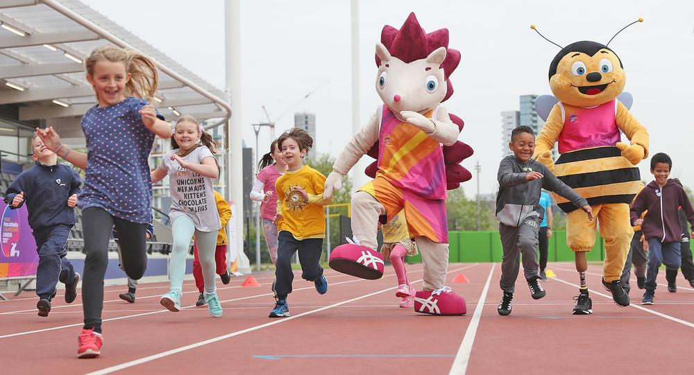 Hero the Hedgehog and Whizbee the Bee are the mascots of this year's World and Para Athletics Championships, respectively