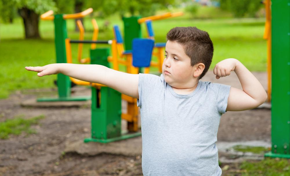 Open-air gyms are a fun, free way for families to get active / © shutterstock/Ruslan Shugushev