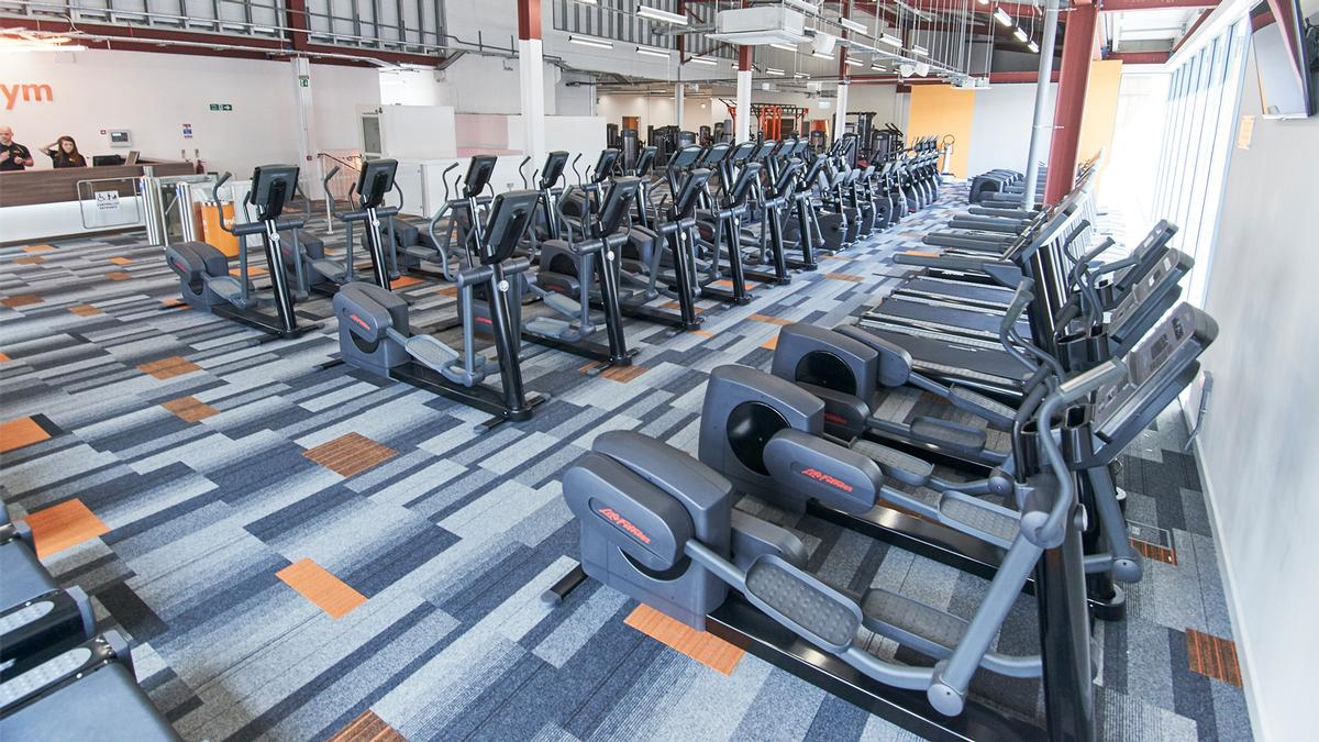 The Medway club comprises more than 220 stations, including Life Fitness cardio and strength zones