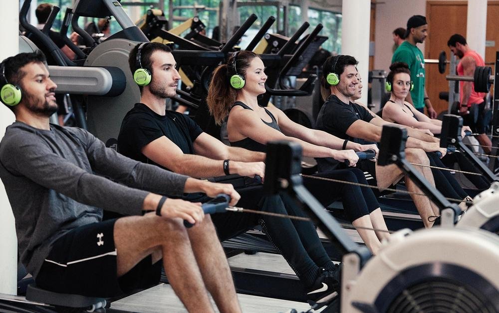 Ro, a group rowing class, is one of three new group exercise concepts on offer at Virgin Active UK clubs